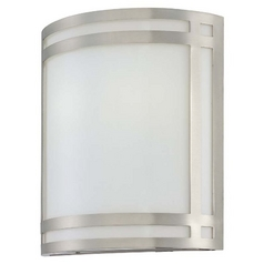 Lite Source Lighting Malika Polished Steel Sconce