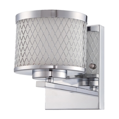 Craftmade Euclid Chrome Sconce