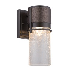 Designers Fountain Baylor Burnished & Flemish Bronze LED Outdoor Wall Light