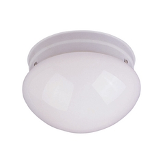 Maxim Lighting Utility Ee White Flushmount Light
