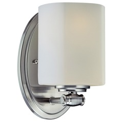 Lite Source Lighting Denali Polished Steel Sconce