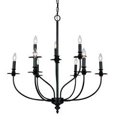 Landmark Lighting, Inc. Chandelier in Oil Rubbed Finish 289-OB