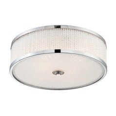 Lite Source Gianetta Chrome Flushmount Light