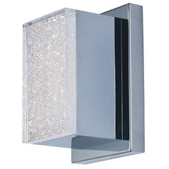 Pizzazz LED Polished Chrome LED Sconce
