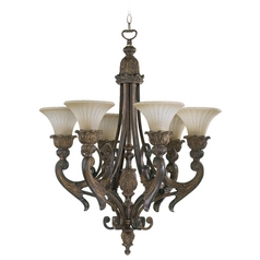 Quorum Lighting Madeleine Corsican Gold Chandelier