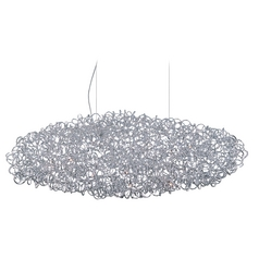Dazed Polished Chrome Pendant Light