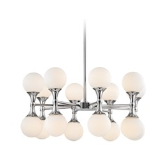 Hudson Valley Lighting Astoria Polished Chrome LED Chandelier