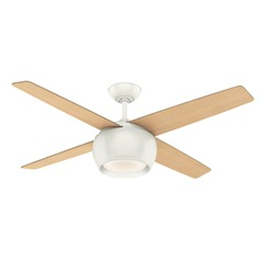 Casablanca Fan Co Valby Fresh White LED Ceiling Fan with Light