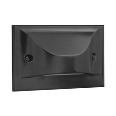 Progress LED Recessed Step Light in Black Finish