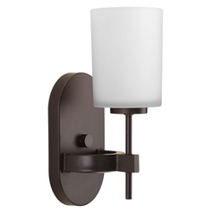Contemporary / Modern Sconce Bronze Compass by Progress Lighting