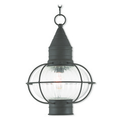 Livex Lighting Newburyport Bronze Outdoor Hanging Light