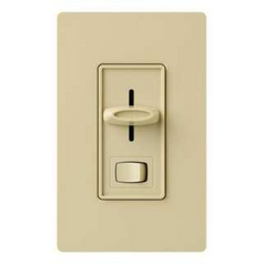 LED / CFL Dimmer Switch by Lutron in Ivory