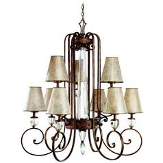 Kichler Chandelier in Heritage Bronze Finish