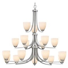 Design Classics Dalton Fuse Satin Nickel Chandelier