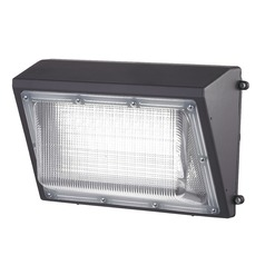 LED Wall Pack Bronze 45-Watt 120v-277v 4600 Lumens 5000K 110 Degree Beam Spread