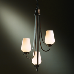 Hubbardton Forge Lighting Flora Bronze Mini-Chandelier