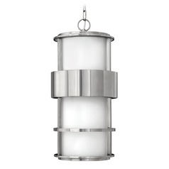 Hinkley Lighting Saturn Stainless Steel LED Outdoor Hanging Light