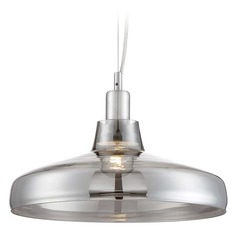 Arnsberg Dover Dark Grey Pendant Light with Bowl / Dome Shade