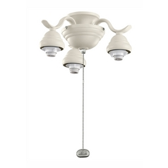 Kichler Lighting Fan Accessory in Satin Natural White Finish 350101SNW