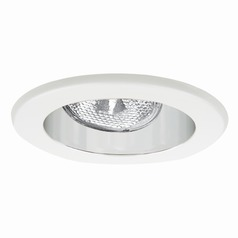 Elite Lighting Clear White Recessed Trim