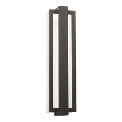 Kichler Lighting Sedo Architectural Bronze LED Outdoor Wall Light
