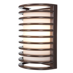 Access Lighting Bermuda Bronze LED Outdoor Wall Light