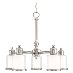 Livex Lighting Middlebush Polished Nickel Chandelier