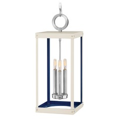 Hinkley Lighting Porter Polished Nickel Pendant Light