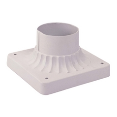 Livex Lighting White Pier Mount