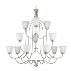 Progress Lighting Keats Brushed Nickel Chandelier