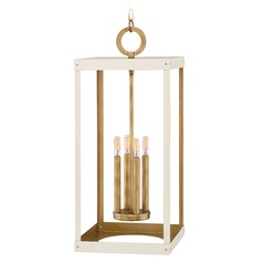 Hinkley Lighting Porter Heritage Brass Pendant Light