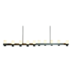 Hubbardton Forge Lighting Staccato Dark Smoke Island Light