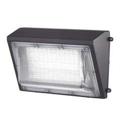 LED Wall Pack Bronze 70-Watt 120v-277v 7600 Lumens 5000K 110 Degree Beam Spread