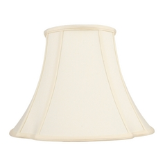 Off White Bell Lamp Shade with Spider Lamp Shade Assembly