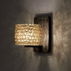 WAC Lighting Mini Haven Rubbed Bronze LED Sconce
