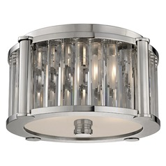 Hartland 2 Light Flushmount Light - Polished Nickel