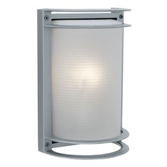 Access Lighting Nevis Satin Nickel Outdoor Wall Light