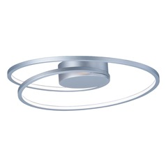ET2 Cycle Matte Silver LED Flushmount Light