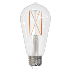 Bulbrite ST18 Carbon Filament Style LED Light Bulb - 60-Watt Equivalent