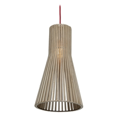 Access Lighting Kobu Wood Mini-Pendant Light