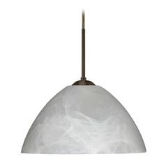 Besa Lighting Tessa Bronze LED Pendant Light