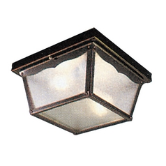 Livex Lighting Livex Lighting Black Close To Ceiling Light 7502-04