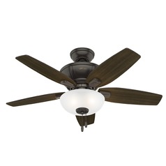 Hunter 42-Inch Kenbridge Noble Bronze Ceiling Fan with Light