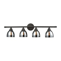 Elk Lighting Reflections Oil Rubbed Bronze Bathroom Light