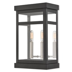 Livex Lighting Hopewell Black Outdoor Wall Light