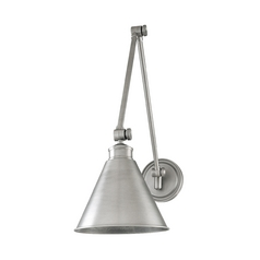 Swing Arm Lamp in Polished Nickel Finish