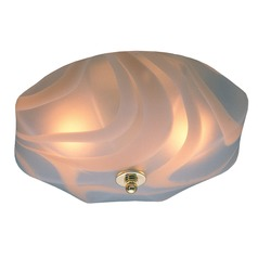 Crystorama Lighting Hot Deal Polished Brass Flushmount Light