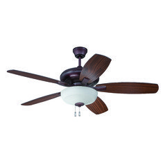 Craftmade Lighting Forza Oiled Bronze Ceiling Fan with Light
