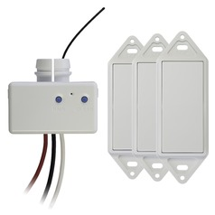 Wireless 4-Way Switch Kit White – Works Only with GoConex Basic Series