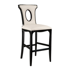 Sterling Lighting Ebony Barstool